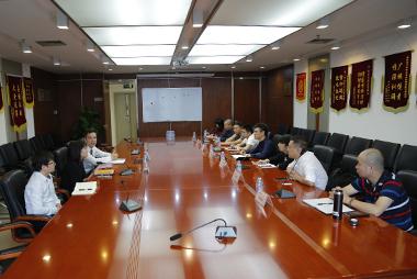 浙江乐清市金融办考察团参访中安信业,交流学习信贷风控技术