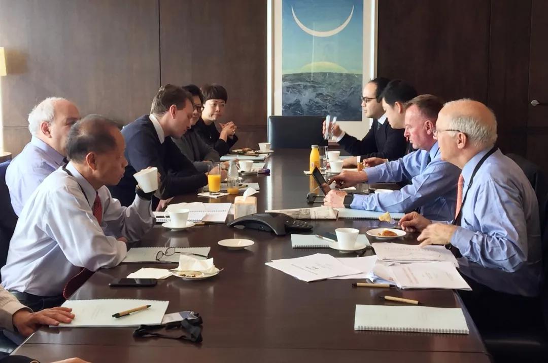 中安信业2018年第一次董事会在香港召开